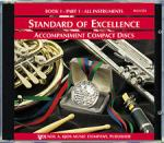 Standard Of Excellence Book 1, CD Part 1 Sheet Music
