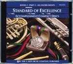 Standard Of Excellence Book 2, CD Part 2 Sheet Music