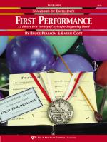 Standard Of Excellence: First Performance - Electric Bass Sheet Music