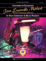 Standard Of Excellence Jazz Ensemble Method, 1st Alto Saxophone Sheet Music