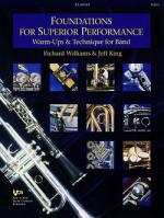 Foundations For Superior Performance, Clarinet Sheet Music