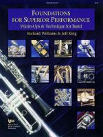 Foundations For Superior Performance, Tenor Saxophone Sheet Music
