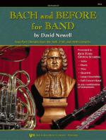 Bach And Before For Band - Trumpet Sheet Music