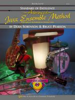 Standard Of Excellence Advanced Jazz Ensemble Method, Drums Sheet Music