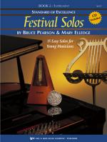Standard Of Excellence:Festival Solos Book 2, Baritone Saxophone Sheet Music