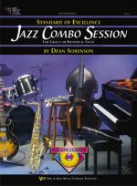 Standard Of Excellence Jazz Combo Session - Trombone / Bar Baritone Clef / Bassoon Sheet Music