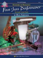 Standard Of Excellence: First Jazz Performance - Cymbals / Snare Drum / Bass Drum Sheet Music