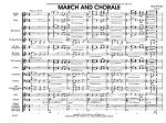 March And Chorale Sheet Music