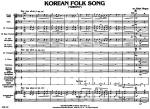 Korean Folk Song Sheet Music