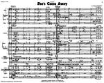 She's Gone Away Sheet Music