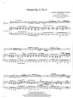 Five Famous Handel Violin Sonatas - SOLO PART WITH PIANO REDUCTION Sheet Music