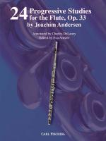 24 Progressive Studies For The Flute, Opus 33 Sheet Music