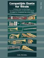 Compatible Duets For Winds - 31 Duets That Can Be Played By Any Combination Of Wind Instruments Sheet Music