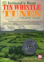 Ireland's Best Tin Whistle Tunes V1 With Guitar Chords Book/CD Set Sheet Music