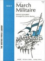 March Militaire Sheet Music Sheet Music