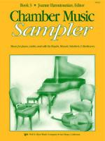 Chamber Music Sampler, Book 3 Sheet Music