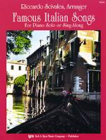 Famous Italian Songs Sheet Music Sheet Music