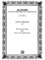 Allegro (from E Minor Sonata #4) - Part(s) Sheet Music