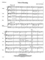 Velvet Morning - FULL SCORE - LARGE Sheet Music