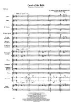 Carol Of The Bells - SCORE AND PART(S) Sheet Music
