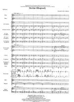 Dorian Rhapsody - FULL SCORE - LARGE Sheet Music