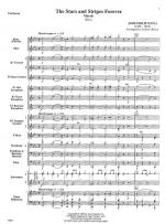 The Stars And Stripes Forever - SCORE AND PART(S) Sheet Music