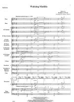 Waltzin Matilda - FULL SCORE - LARGE Sheet Music