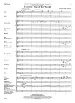 Everest - Top Of The World - SCORE AND PART(S) Sheet Music