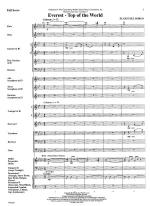 Everest-Top Of The World - FULL SCORE - LARGE Sheet Music