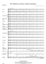 We Wish You A Merry Latin Christmas - SCORE AND PART(S) Sheet Music