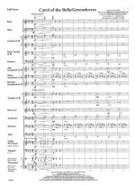 Carol Of The Bells/Greensleeves - FULL SCORE - LARGE Sheet Music