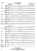 The Mikado - SCORE AND PART(S) Sheet Music