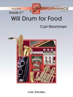 Will Drum For Food Sheet Music
