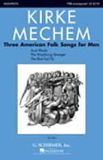 Three American Folk Songs For Men Sheet Music