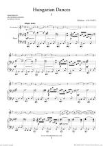 Hungarian Dances (COMPLETE) Sheet Music