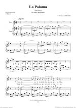 La Paloma Sheet Music