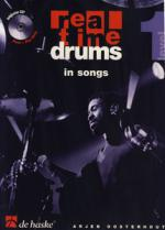 De Haske Real Time Drums In Songs 1 Sheet Music