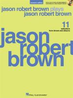 Jason Robert Brown Plays Jason Robert Brown (Women's Edition) Sheet Music