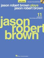 Jason Robert Brown Plays Jason Robert Brown (Men's Edition) Sheet Music