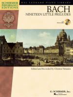 J.S. Bach: Nineteen Little Preludes (Schirmer Performance Edition) Sheet Music