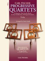 Progressive Quartets For Strings - Viola Sheet Music