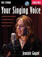Jeannie Gagné: Your Singing Voice Sheet Music