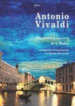 Antonio Vivaldi: Mandolin Concerto (String Quartet) Sheet Music
