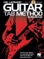 Hal Leonard Guitar Tab Method: Songbook 1 Sheet Music