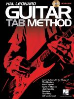 Hal Leonard Guitar Tab Method Sheet Music