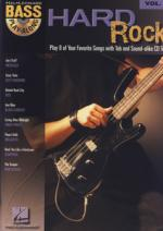 Hal Leonard Hard Rock Bass Play Along Sheet Music
