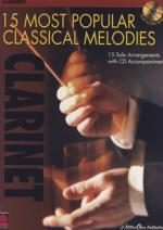 Hal Leonard 15 Popular Classical Cl Sheet Music