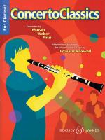 Concerto Classics Clarinet And Piano Sheet Music