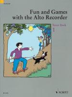 Fun And Games With The Alto Recorder Tutor Book 1 Sheet Music