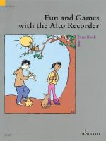 Fun And Games With The Alto Recorder Tune Book 1 Sheet Music